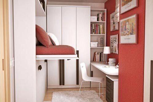 спальня в гостиной-идеи-1